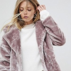 Up to 62% OffFaux Fur Coats @ ASOS