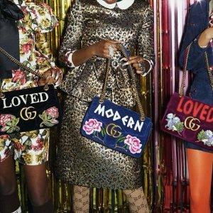 低至4.8折最后一天:Gucci 经典包包,钱包,鞋履,墨镜闪购特卖