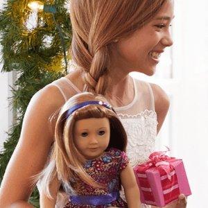 罕见满百享包邮即将截止:American Girl 美国娃娃官网促销,小苏瑞等明星宝宝的最爱